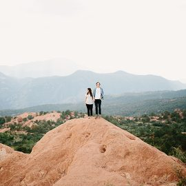 Matt + Ester in the Mountains