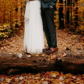 Ben + Sarah, Married in New Hampshire