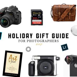 2017 Photographers Gift Guide